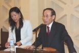 韓基総会長が来日 日韓地域福祉宣教セミナー