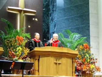 東京中央神学院卒業式 東京中央教会