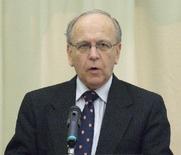 ブルース・ウィンター博士。2011年6月4日、東京都千代田区OCCで。