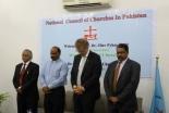 パキスタン教会協議会(NCCP)で冒涜(とく)法による犠牲者を覚え黙とうが捧げられた(写真:WCC)
