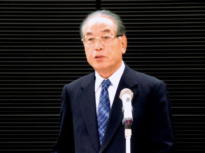 基調講演を行った大竹美喜氏=10月26日、東京都港区で
