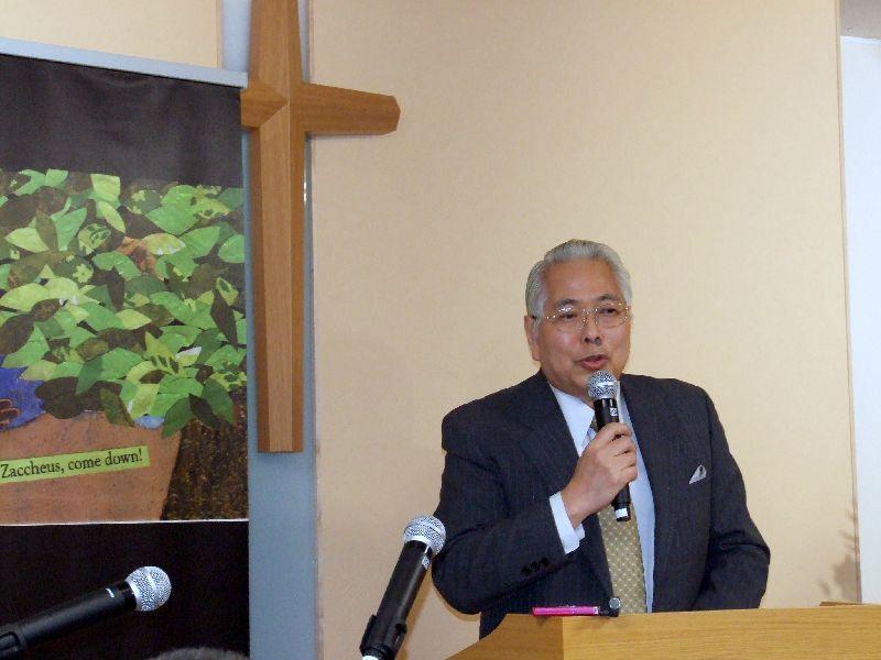 明るい社会づくり運動埼玉県協議会副会長永瀬昌宏氏、2011年11月17日、OCC(東京都千代田区)で。