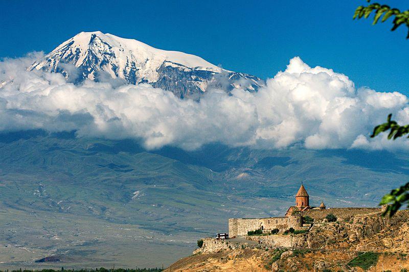 アルメニアから見たアララト山