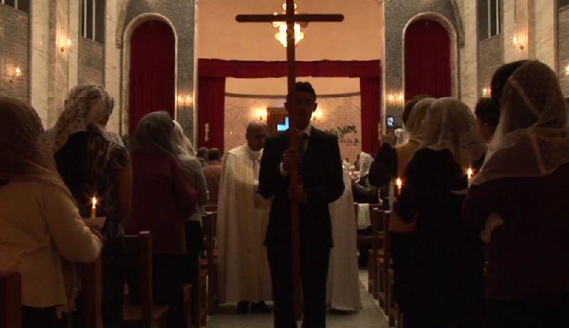 イラク国内のアッシリアキリスト教徒の様子(「エデンの園の嘆き」の一シーンより)
