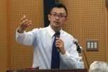 復興支援の取り組み語る 進藤龍也牧師