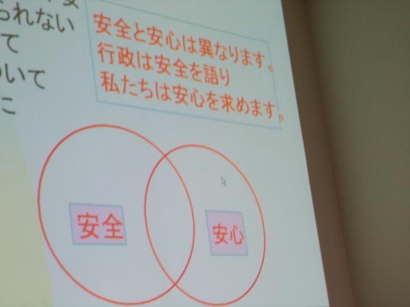 講演に用いられたスライド。