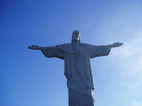 ブラジルコルコバードのキリスト像