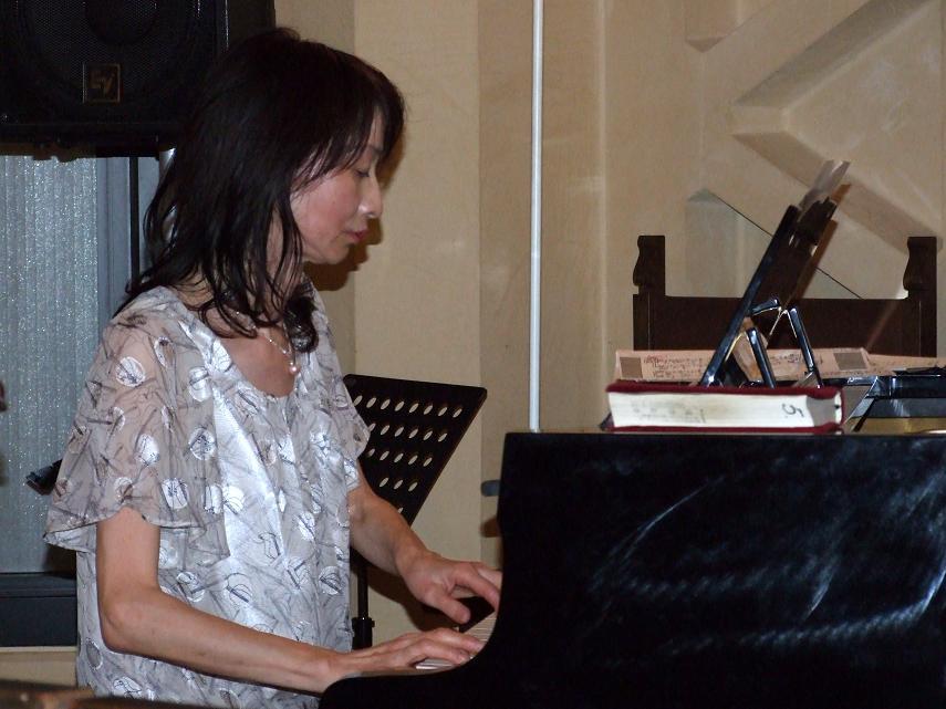 小西優子氏、2012年7月11日、淀橋教会(東京都新宿区)で。