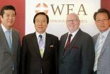 韓国基督教総連合会代表団、2014年の総会準備のためにWEAを訪問