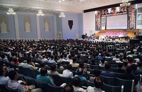 2012年世界宣教カンファレンスの様子(写真提供:米CP)